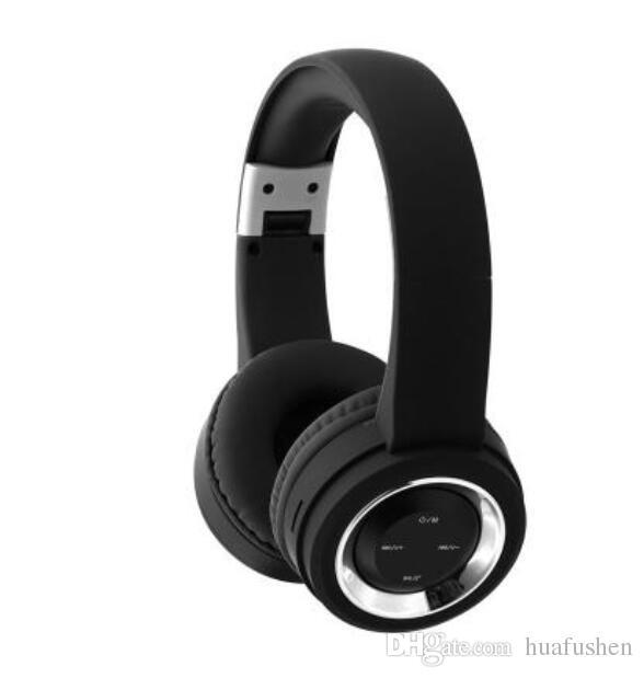 Auriculares plegables de Bluetooth de la tarjeta del TF del tipo estéreo de fines generales inalámbricos de los deportes del plegamiento.