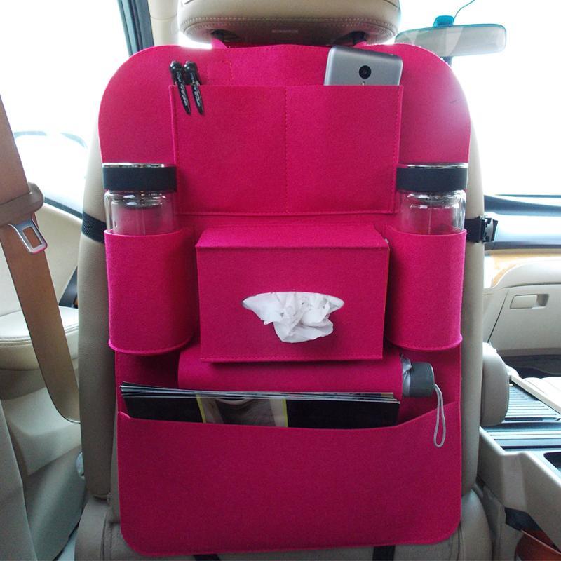Car Seat Bag Storage Folding Car Covers Back Car Felt Organizer Auto ...
