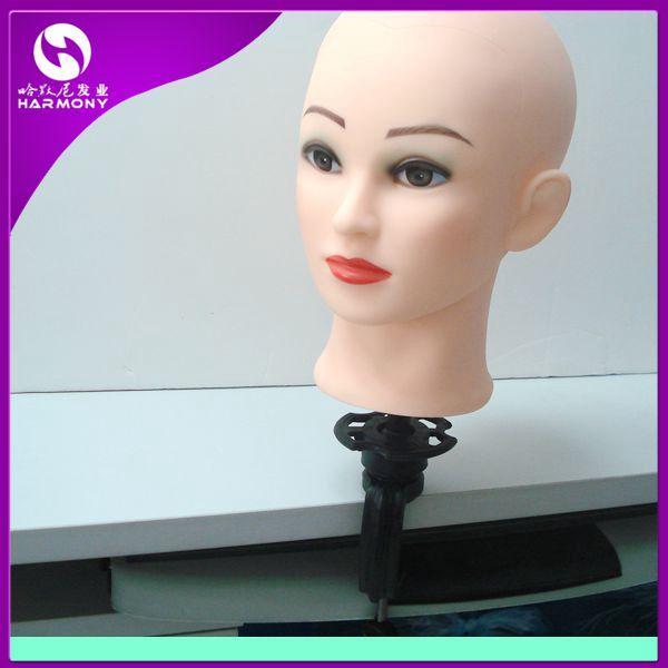 ENVÍO GRATIS 1 unid placstic mannequin head holder / training head holder en soporte de color negro para cabeza de exhibición