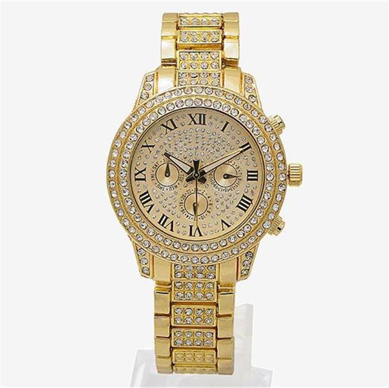 765629e14688 Luxury Watches Womens Diamonds Watches 3 Eyes Women Bracelet Ladies Designer  Wristwatches Wholesale Buy Cheap Watches Online Buy Cheap Watches From ...