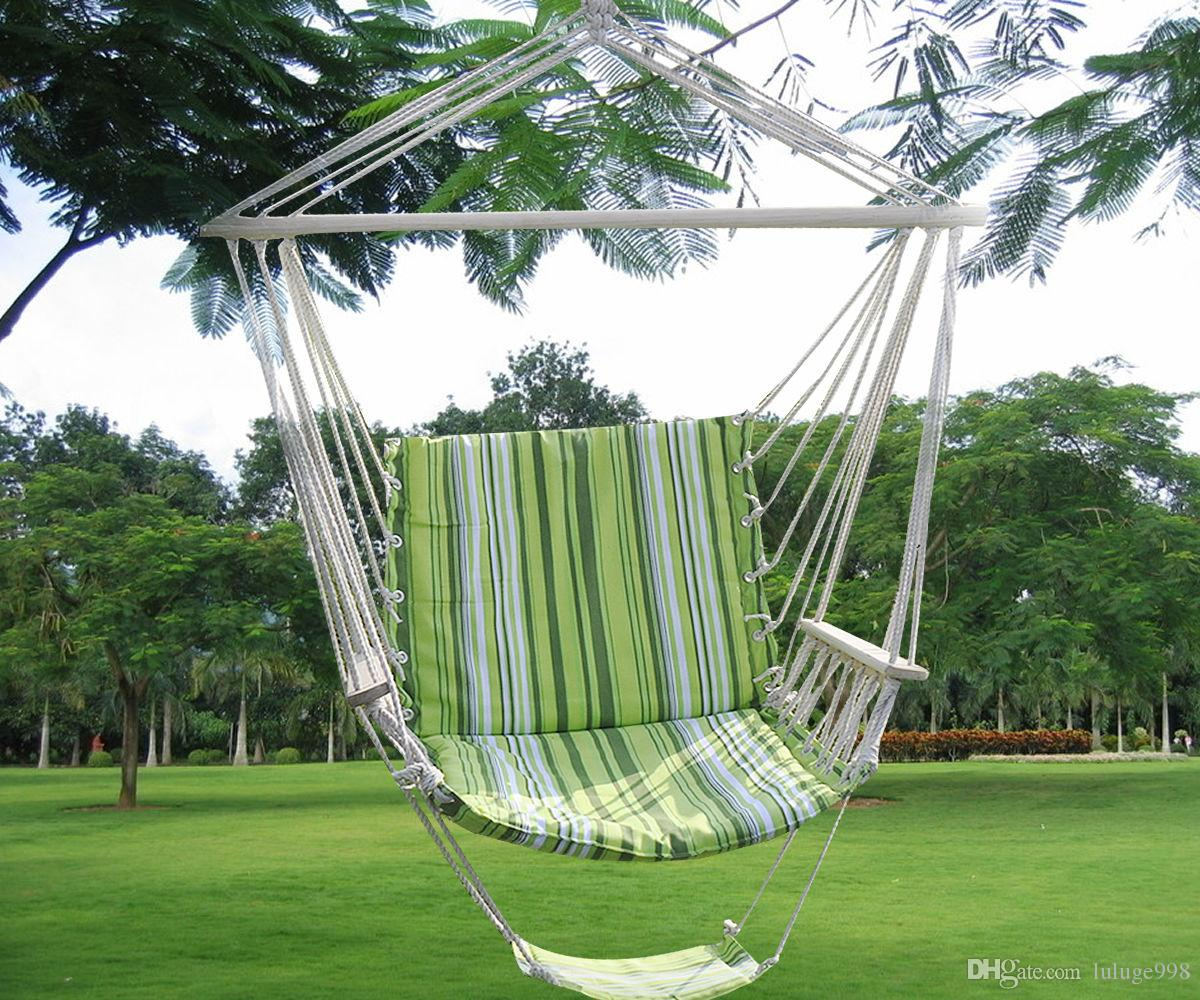 Green Leisure Swing Hammock Hanging Outdoor Chair Garden Patio Yard 260Lbs  Max Hammock Online With $22.96/Piece On Luluge998u0027s Store | DHgate.com
