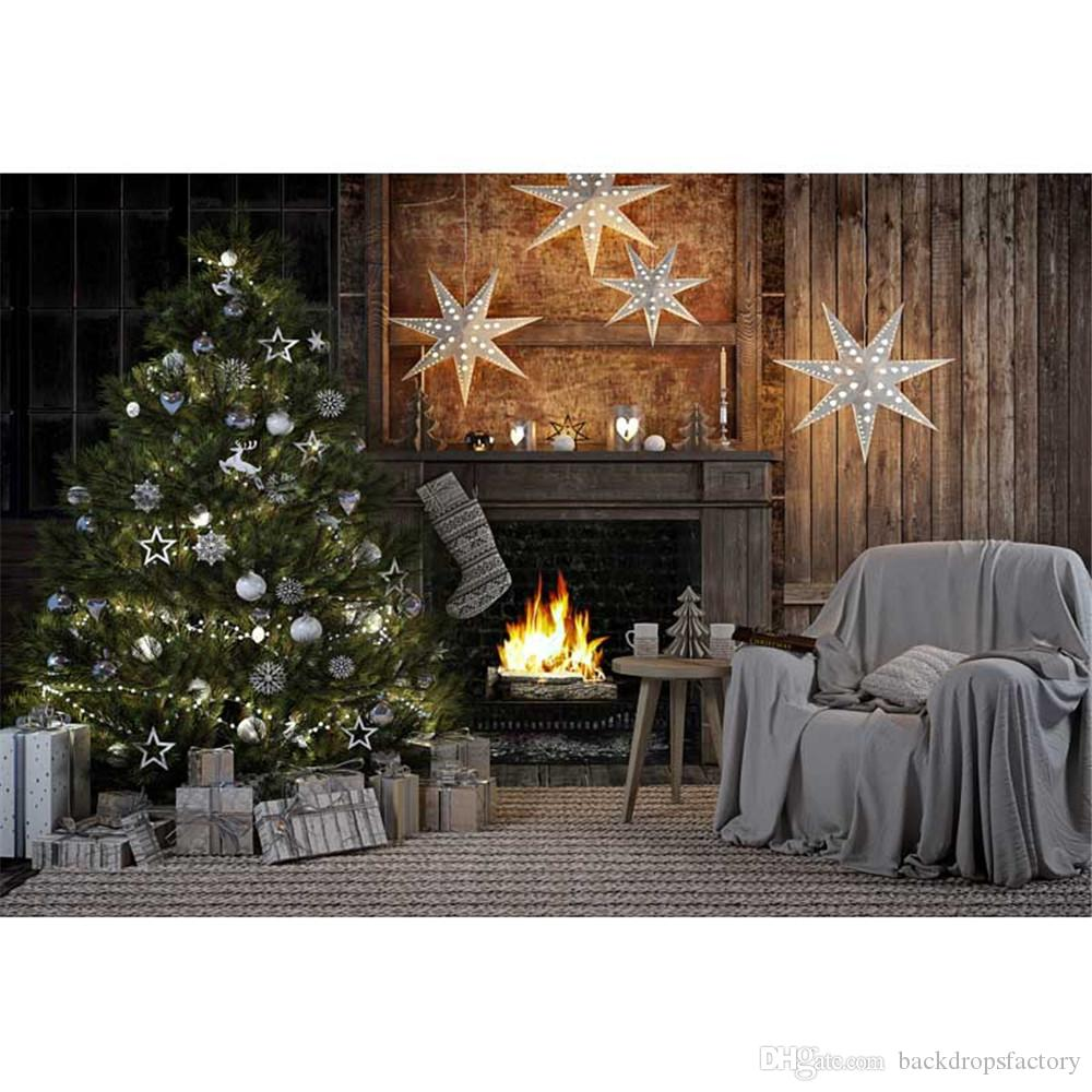 2017 vintage indoor photography backdrops christmas holiday