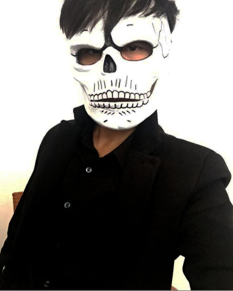 Movie 007 Mask Spectre Skull Skeleton Scary Resin Masks James Bond ...