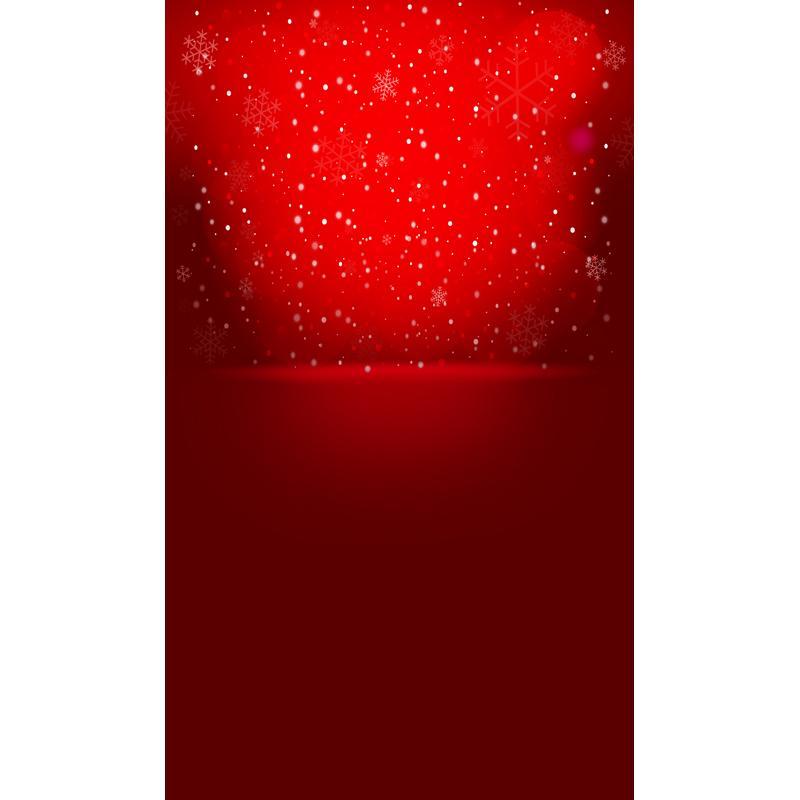 Großhandel 5x7ft 150x220cm Schneeflocke Rot Weihnachten Für Kinder ...