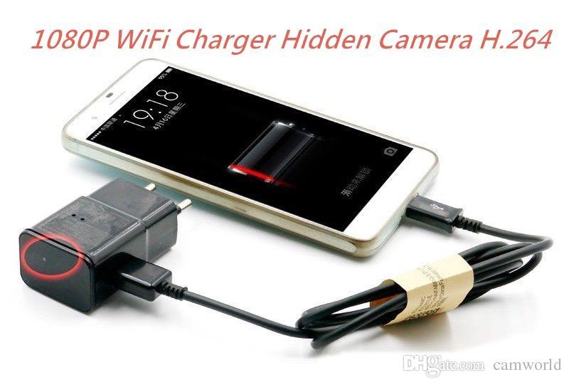 Hidden Cameras For Home >> 1080p Wifi Remote Wireless Hidden Camera H.264 Cctv Spy Camera Eu Us Ac Adapter Plug Hd Hidden ...