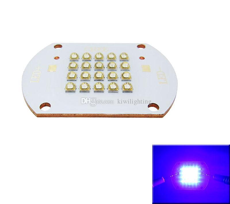 LG Chip 50W / 100W 450-455NM Royal Blue Led Module Light 30-36 V 1.5A / 3A Con Copper Board 120 gradi FAI DA TE