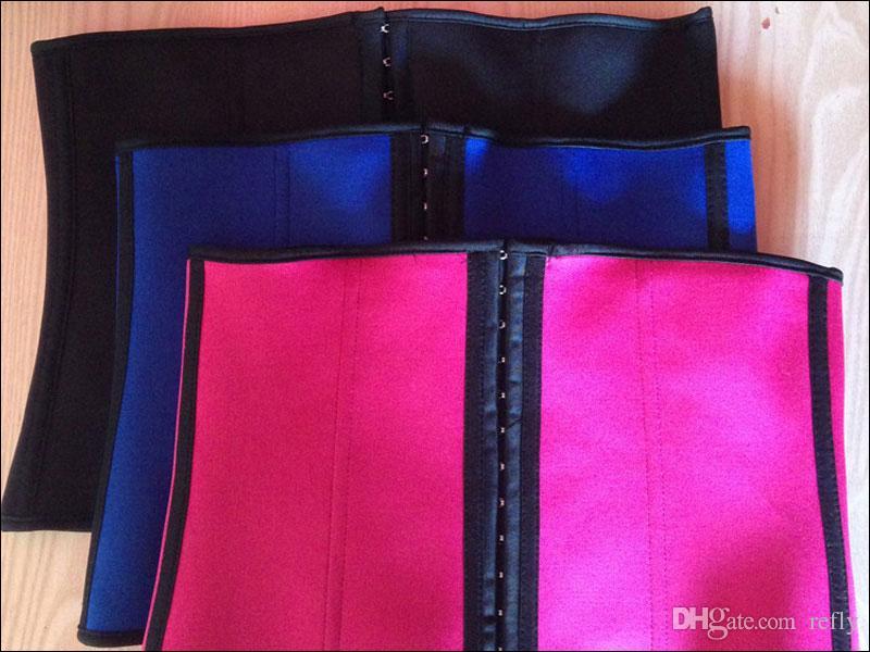 S-3XL Cintura Cinchers Mujeres Shapewear de goma Corsé Fajas Cintura Trainers Corsé body slimmers cintura shaper shapewear corsé