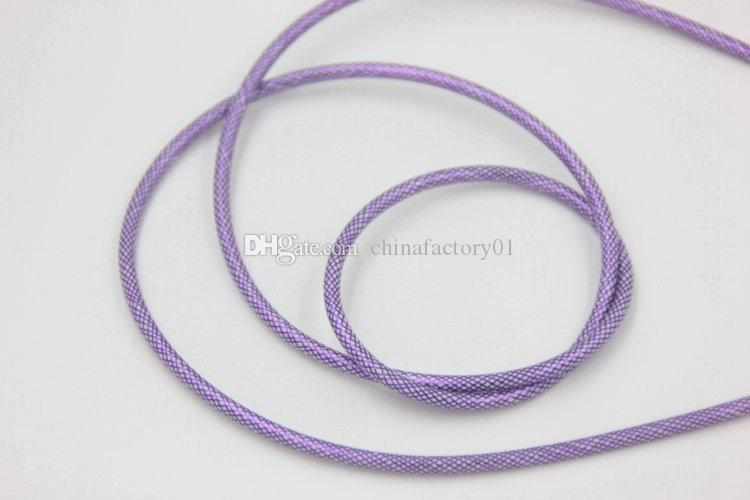 Braided Fabric Auxiliary Jay Car Audio Cable 3.5mm AUX Stereo Colorful Cables For MP3 Media Player Ipad Iphone 5 6S
