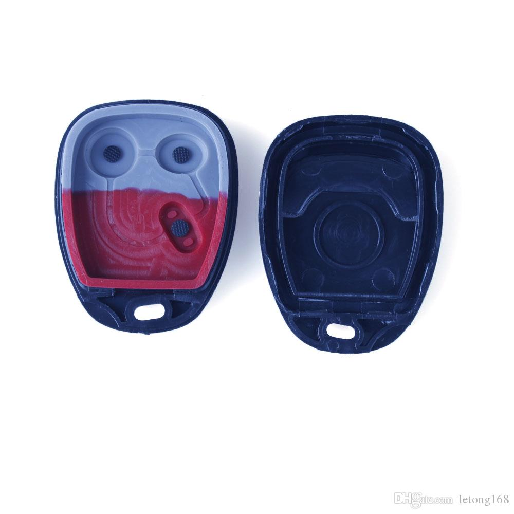 3Buttons Keyless Entry Remote Fob Car Key Shell Key Case Clicker Transmitter For GMC Chevrolet Guaranteed 100%