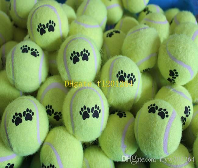 2019 Cheapest Pet Dog Toy Tennis Balls Run Catch Throw Play Toy Chew