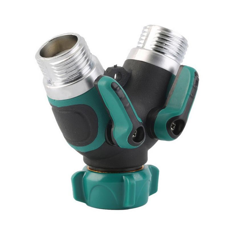 garden hose splitter. 2018 Metal Garden Water Hose Splitter Connector Valve Faucet To 2 Way From Achenbinfeng, $12.45 | Dhgate.Com Z