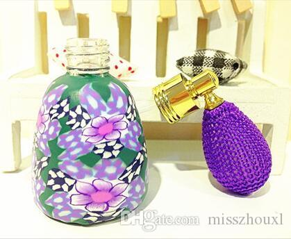 Flacon pulvérisateur d'échantillon de parfum de 15ml Conteneurs de parfum d'atomiseur en céramique souple d'ampoule