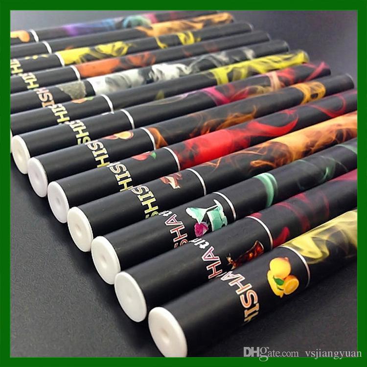 E кальян кальян Pen одноразовые электронные сигареты Pen сигары фруктовый сок E Cig Stick кальян время 500 затяжек красочные DHL бесплатная доставка