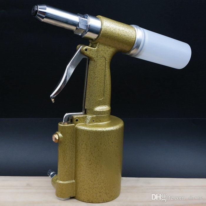 Pistolet à riveter de qualité industrielle en acier inoxydable noyau tirant outil outil de rivetage à air clou noyau pullig pistolet tirant rivet pistolet à vent riveteuse