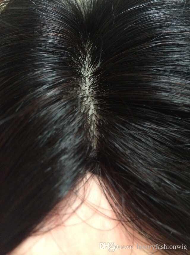 Tam Dantel İnsan Saç Peruk Brezilya Bakire Saç 100 Ucuz Çin Remy İnsan Saç Düz Peruk Ayakkabılarımı Tam, Siyah Kadın Tam Dantel Peruk