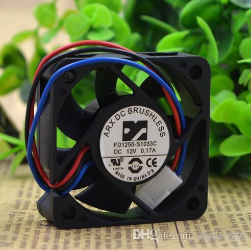 ARX 5015 5CM 50 * 50 * 15MM 12V 0.17A FD1250-S1033C Ventilador de 3 alambres