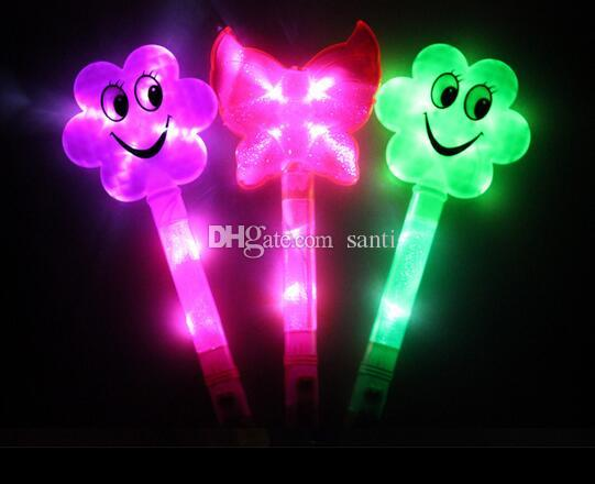 Festive & Party Supplies Concert support flash stick cartoon led fluorescent rod glow Christmas party