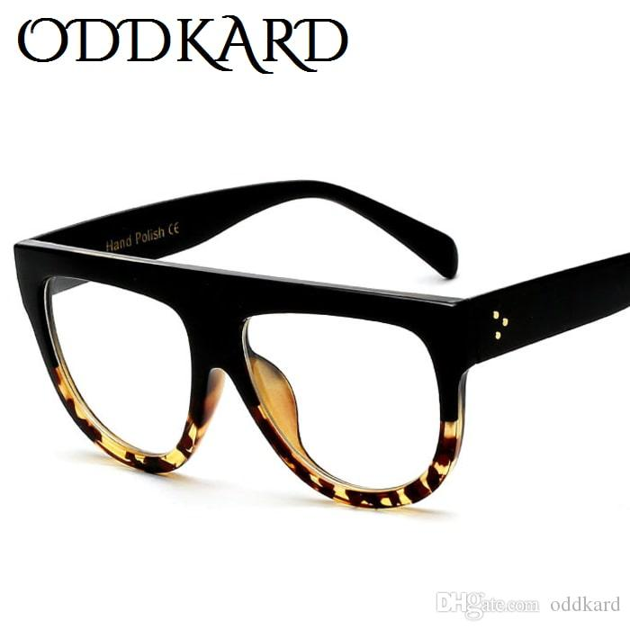 7f498d7abf ODDKARD Casual Fashion Flat Top Sunglasses For Men And Women Brand Designer  Semi Round Sun Glasses Oculos De Sol UV400 Cheap Eyeglasses Online  Sunglasses At ...