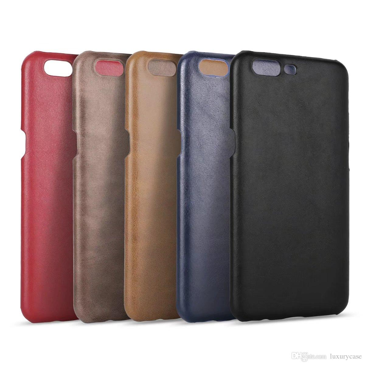 Portable For Oneplus 5 Case Back Cover Luxury Colorful Ultra-Thin Original Genuine Leather Case For 1plus Five / Oneplus Five