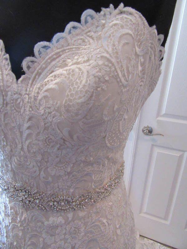 Атласные Кружева Бальное Платье Милая Атласная Группа Бисером Свадебное Платье Свадебное Платье Noivas На Заказ Плюс Размер Халат Де Марие
