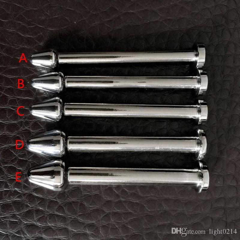 Cathéters d'obstruction urétrale en acier inoxydable Cathéters à prise de pénis Sons Dilatateurs urétraux Sondage Sex Toys pour les hommes B2-3-17