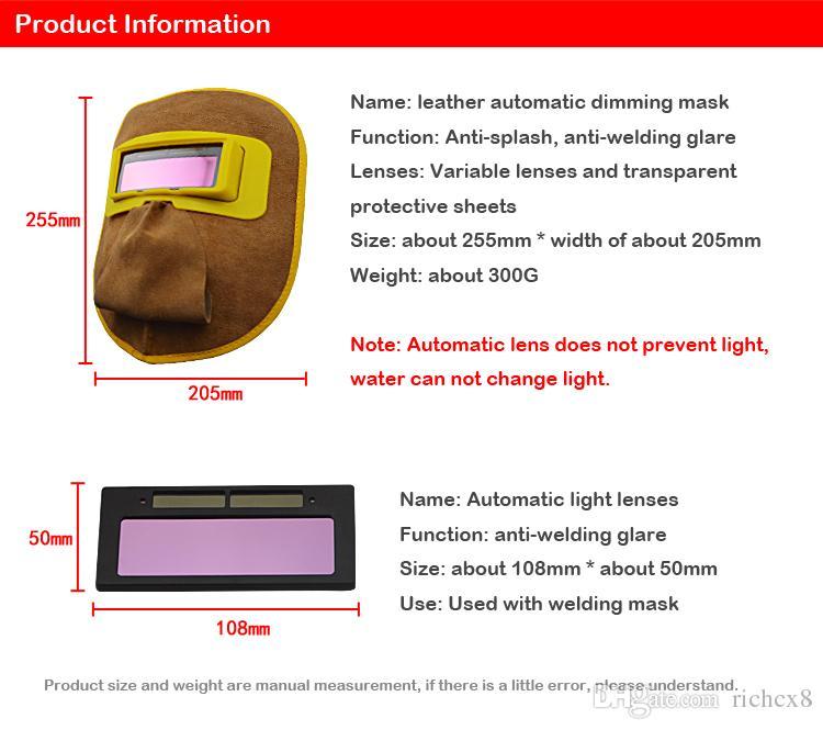 Маска заварки Тавра HUATE автоматическая затемняя, солнечный объектив, экран стороны сварщика защитный, поставки страхования труда заварки, защитный экран