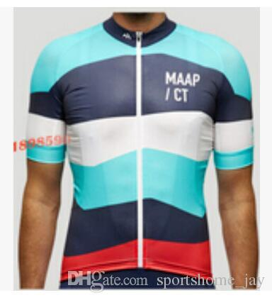 2016 maap TEAM Mountain Racing Bike Abbigliamento da ciclismo / Bicicletta traspirante Maglie da ciclismo Ropa Ciclismo / Manica corta Ciclismo Abbigliamento sportivo