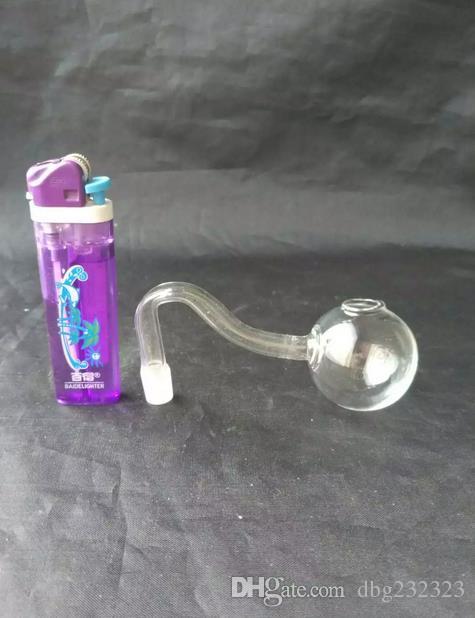venda al por mayor Envío libre ----- Pote grande de la burbuja de cristal transparente de S, cachimba / bong de cristal / instalaciones de tuberías de cristal