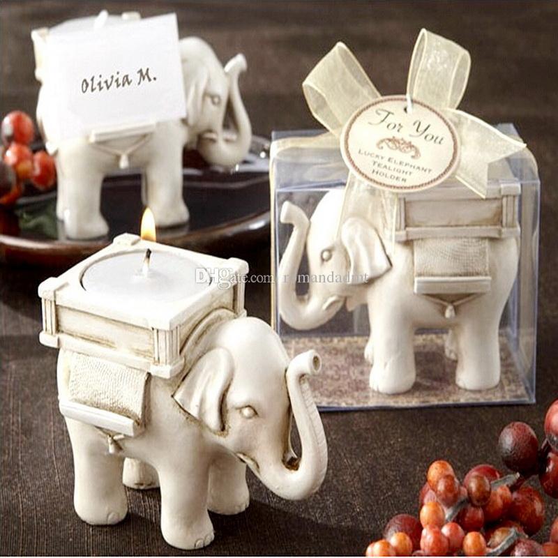 creative elephant candle holder resin place card holder wedding rh dhgate com