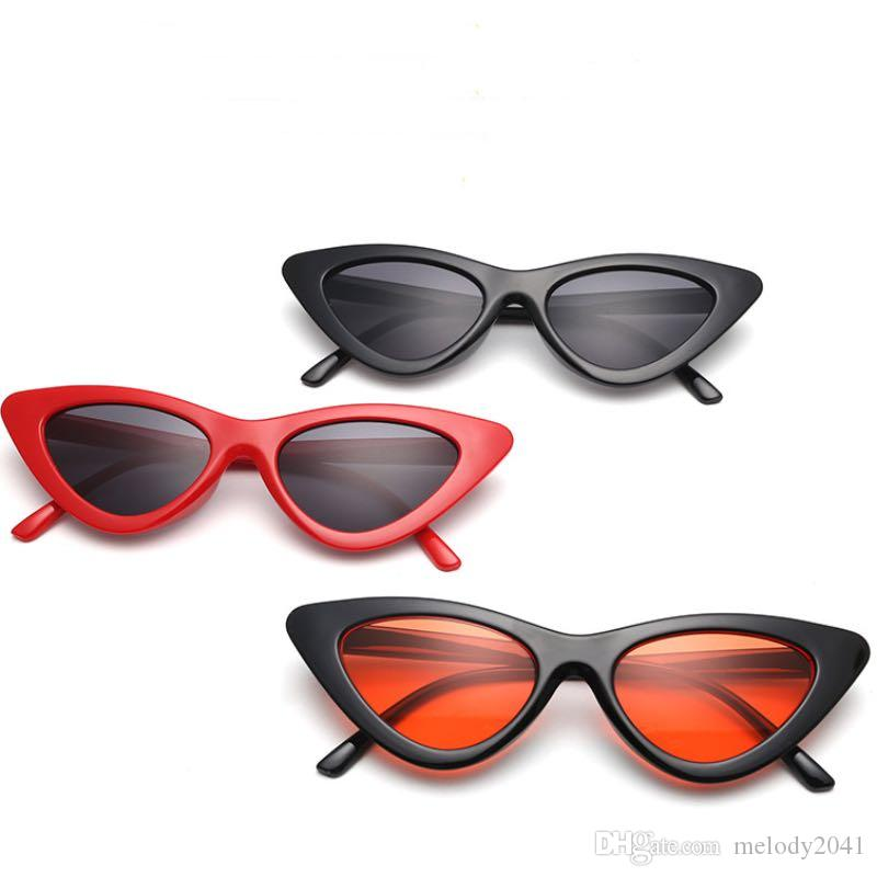 948e23f1fd 2018 New Cat Eye Sunglasses Frame Colorful Fashion Cateye Sun Glasses Cheap  Wholesale Eyewear Best Sunglasses Dragon Sunglasses From Melody2041