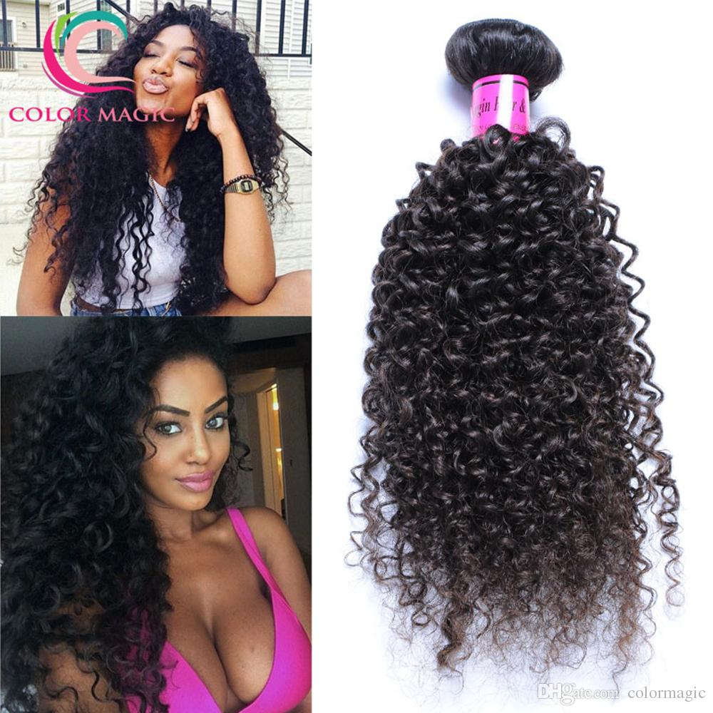 Brazilian Virgin Hair Kinky Curly Brazilian Human Hair Weave Bundles
