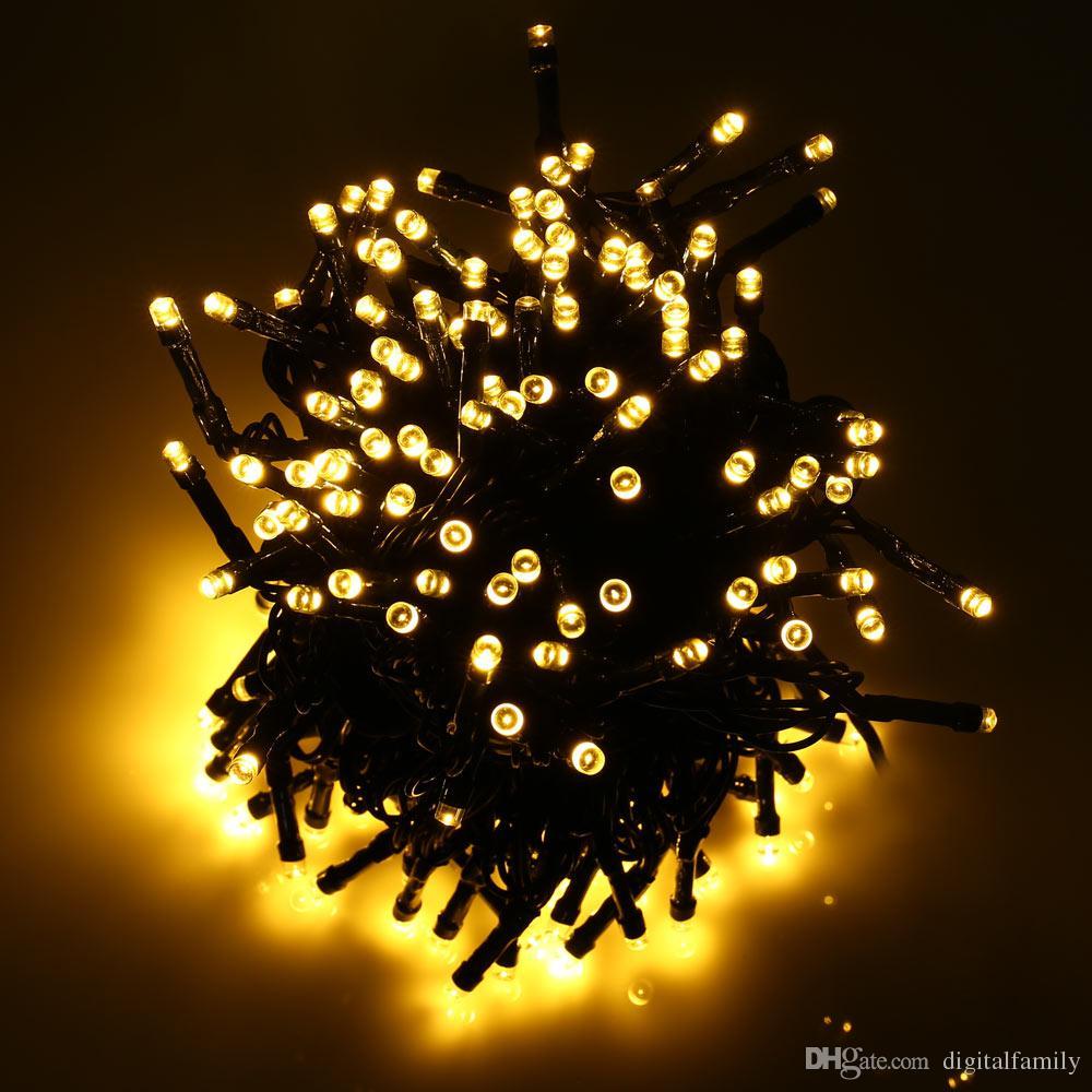 22M 200 LED Solar String Fairy Lights Waterproof Solar Power 8 Modes 7M 12M Solar Lights For Christmas Halloween Garden Decoration