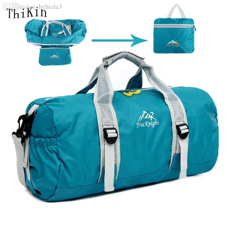 5a5aa6b03e Wholesale Unisex Waterproof Nylon Large Capacity Ultralight Foldable  Outdoor Gym Bag Sports Bags Travel Duffle Bags Rolling Travel Bag Kids  Wallet Branded ...