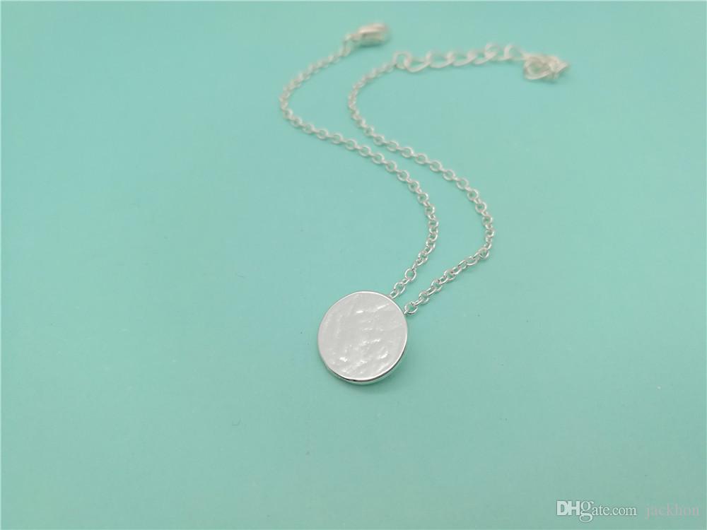 5 STÜCKE Gebürstet Runde Kreis Armband Tiny Disk Münze Armband Geometrische Disc Dot Armband Einfache Pie Armbänder für Frauen