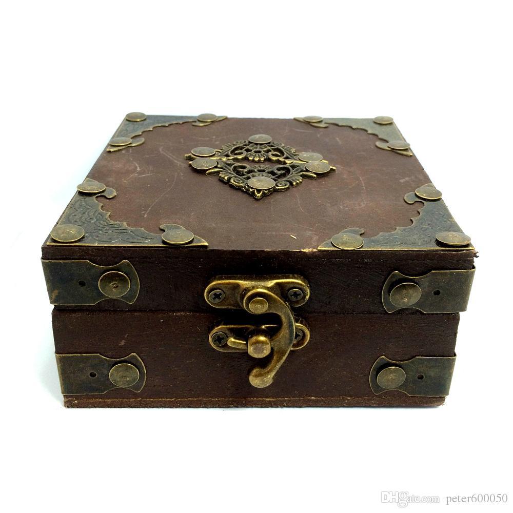 Tattoo Gun Antique Wooden Wood Box Case Storage For Tattoo Machine inks kits supply