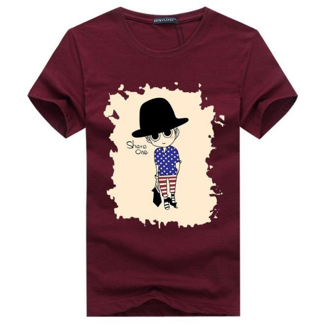2017 Großhandel t-shirt männer T-Shirts 3D malerei hip hop kleidung herren designer shirts plus größe schwarz weiß