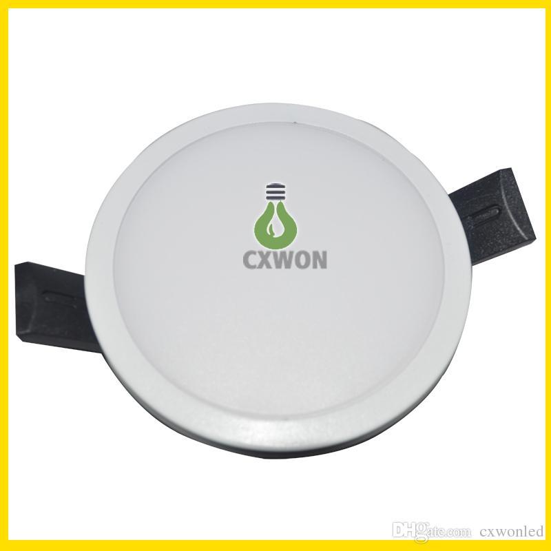Intégrez la lampe de panneau de lampes LED 8W 16W 22W 30W 30W CRI85 SMD 4014 Haute Qualité Downlights encastrés Cuisine Salle de bain