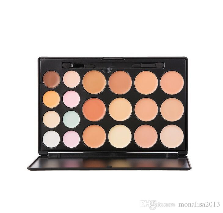 Makeup Concealer Face Cream Concealer Foundation Palette Makeup Concealer with makeup brush NO LOGO 2016
