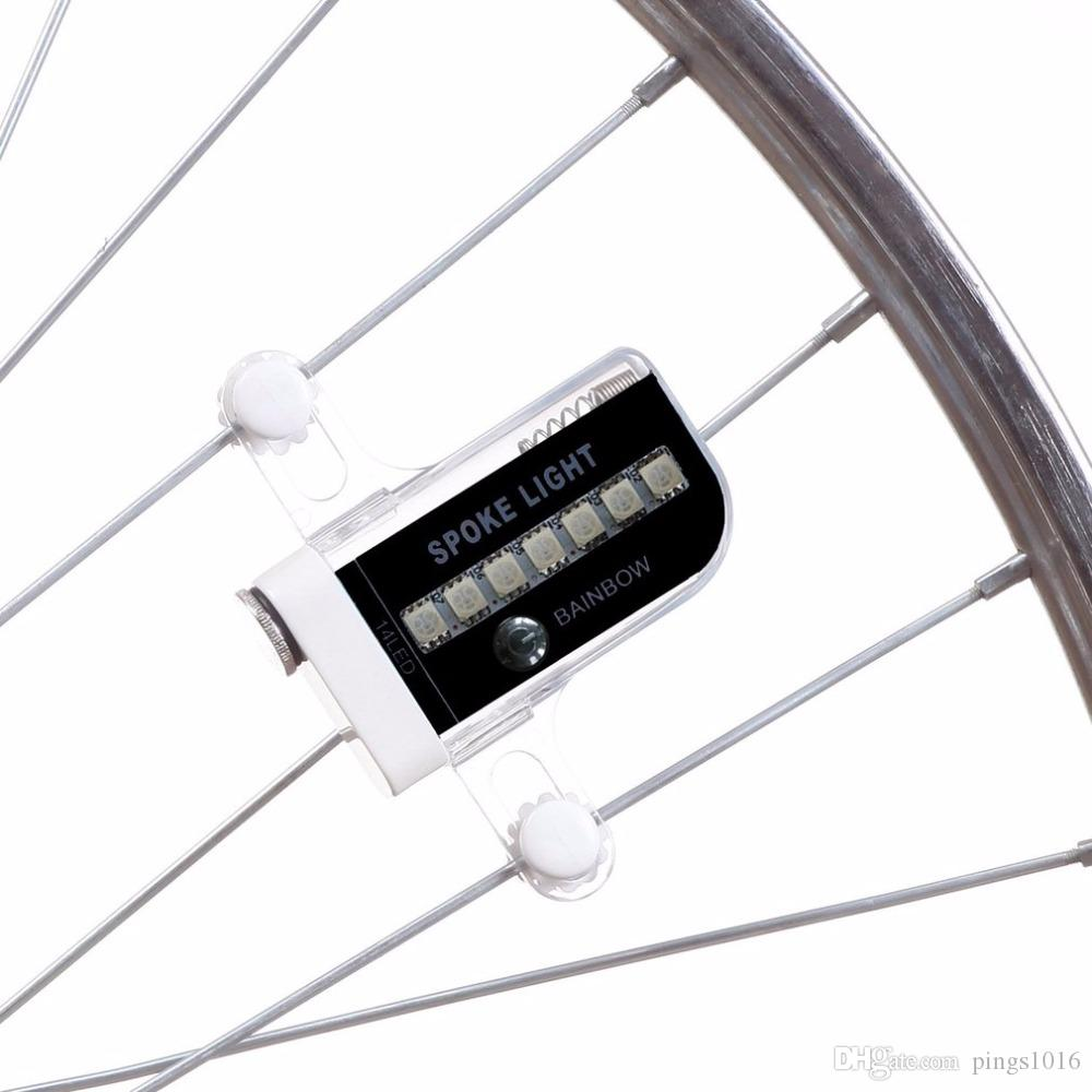 14 Led Motorcycle Cycling Bicycle Bike Wheel Signal Tire Spoke Light 30 Changes 3 Modes Bicycle Spoke Light Free Shipping #30 Online Shop Accessories Automobiles & Motorcycles