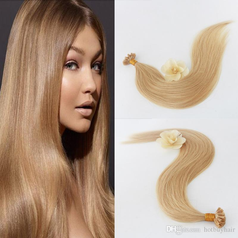 1g Strand 50 Grams Package Bonded Remy Hair Extensions U Tip