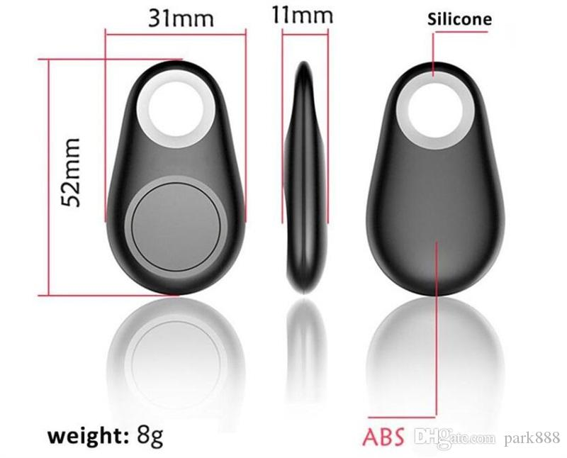 GPS мини беспроводной телефон Bluetooth 4.0 GPS трекер сигнализации iTag Key Finder запись голоса для анти-потерянный затвор для ios Android смартфон