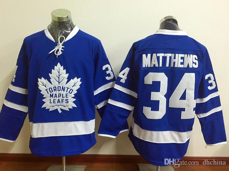 2019 Newest Maple Leafs Jersey  34 Matthews Hockey Jerseys Blue Color Size  48 56 Stitched High Quality Cheap Price  17  21 All Jerseys From Dhchina f02a38834ee