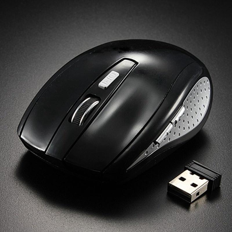 Wholesale- 2 4G Wireless Mouse Mini 5 Button 1200 DPI Optical Gaming Mouse  PC Gamer Mice For Notebook Computer Laptop