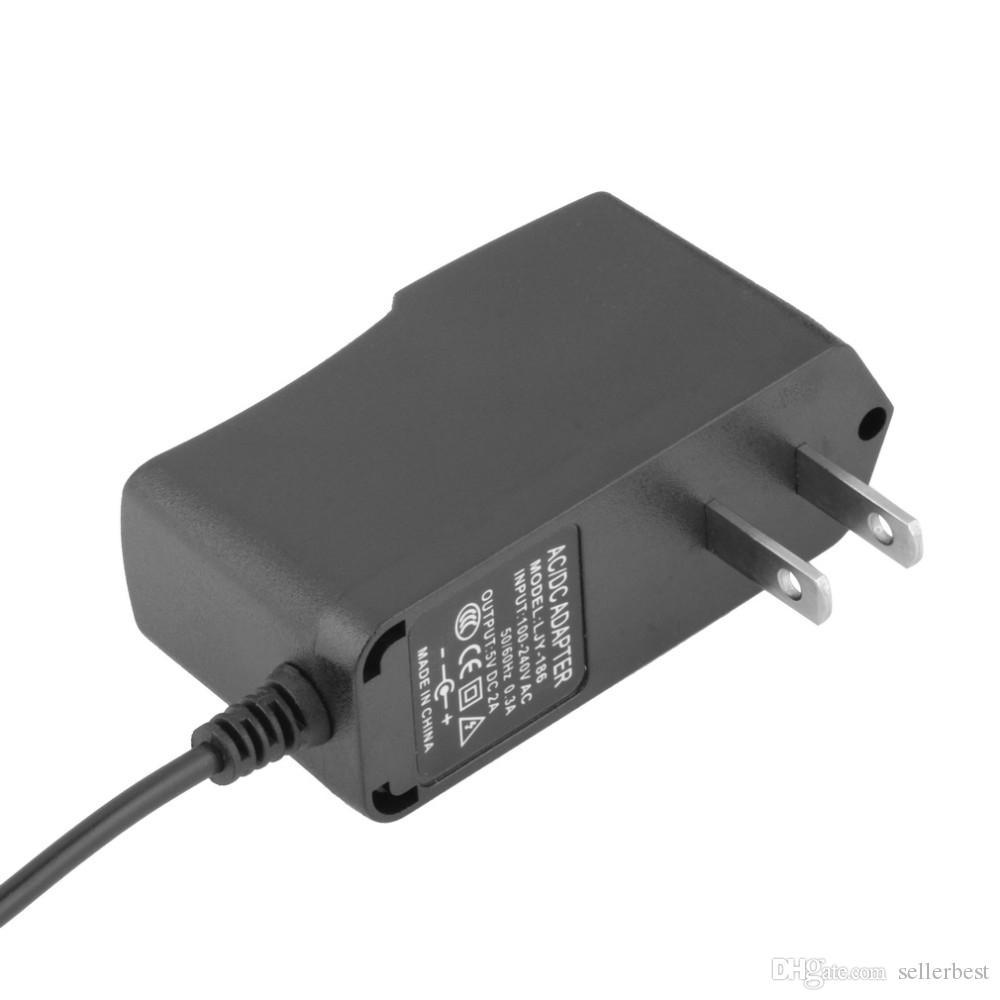 LJY-186 범용 IC 전원 어댑터 충전기 5V 2A DC 2.5 mm 안 드 로이드 태블릿 NABI II EU 플러그 미국 플러그