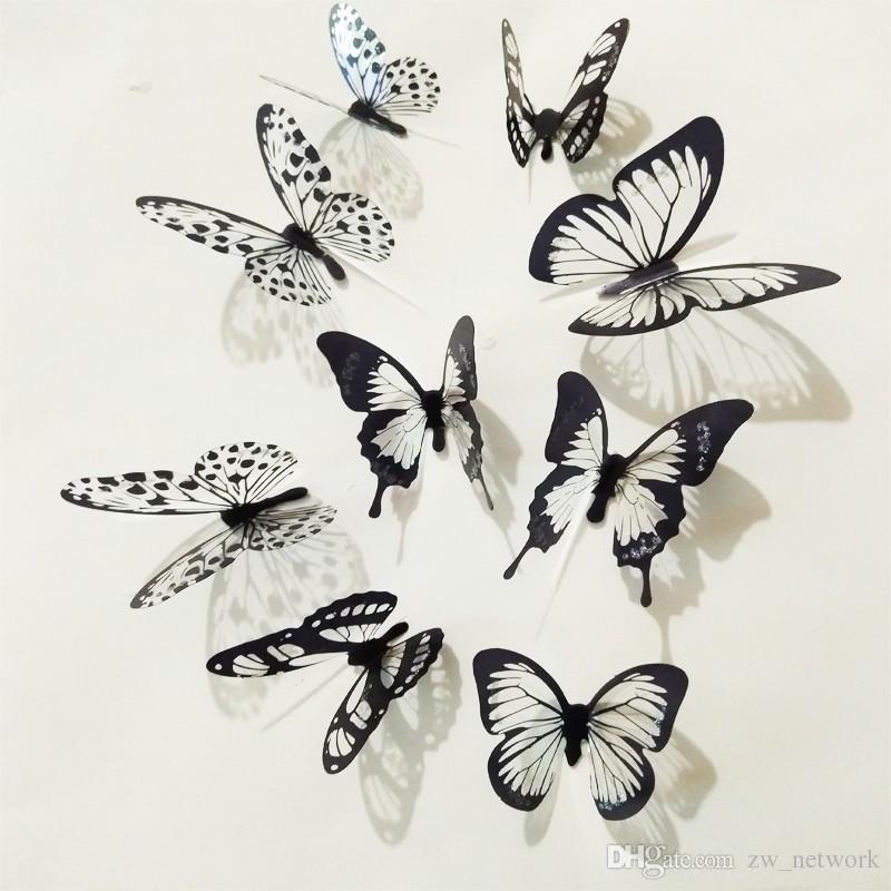 Acheter Cendrillon Papillon 3d Stickers Muraux 3d Butterfly