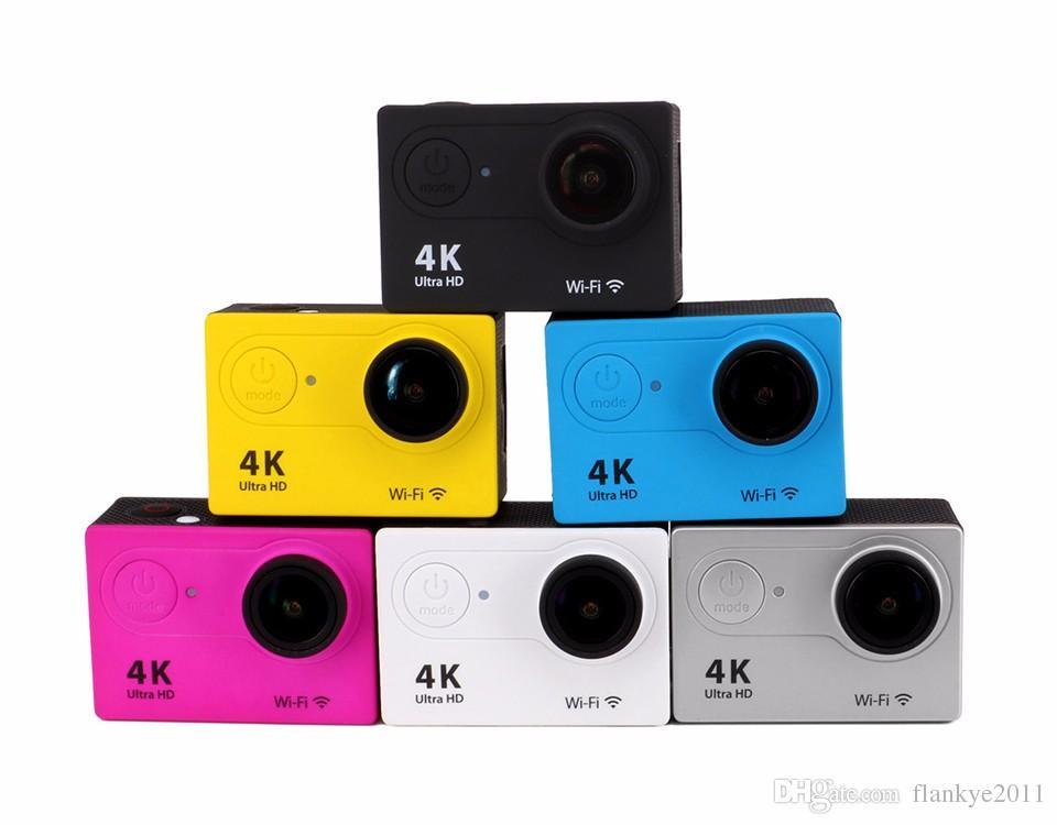 """Original EKEN H9 / H9R Action camera Ultra HD 4K / 25fps WiFi 2.0"""" 170D underwater Camera waterproof Cam Helmet camera Sport"""