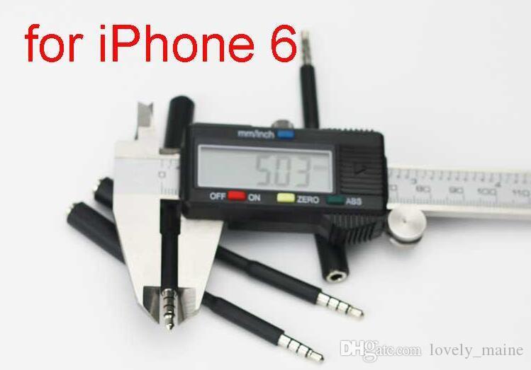 Kopfhörer Adapter 3,5mm Jack Aux Verlängerungskabel Audio Kopfhörer Kabel Männlich zu Weiblich für für iPhone 5 5C 5 S 6 6G 6 S Plus