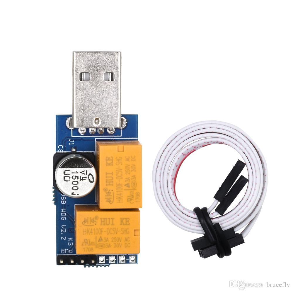 Doubel Relay Usb Watchdog Card Module Automatic Restart Ip Soket Converter Hardisk Laptop Sata Ke Electronic 20 Timer Reboot Lan For Mining Gaming Computer Pc