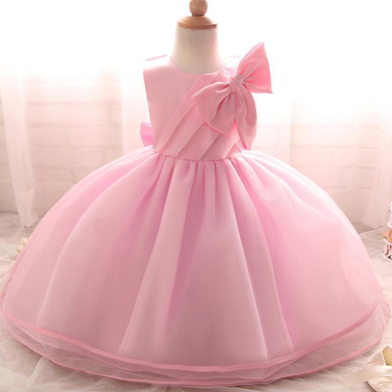 Compre Al Por Mayor Amazing Toddler Girls Bautizo Vestido Recién ...