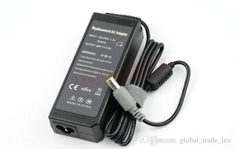 Vendita in fabbrica Buon prezzo Caricabatterie portatile di alta qualità Lenovo / IBM 20V 4.5A 7.9mm * 5.0mm 90W